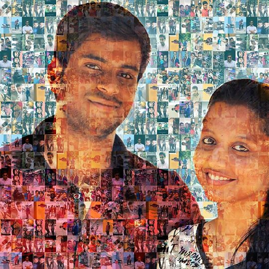 mosaic with pictures